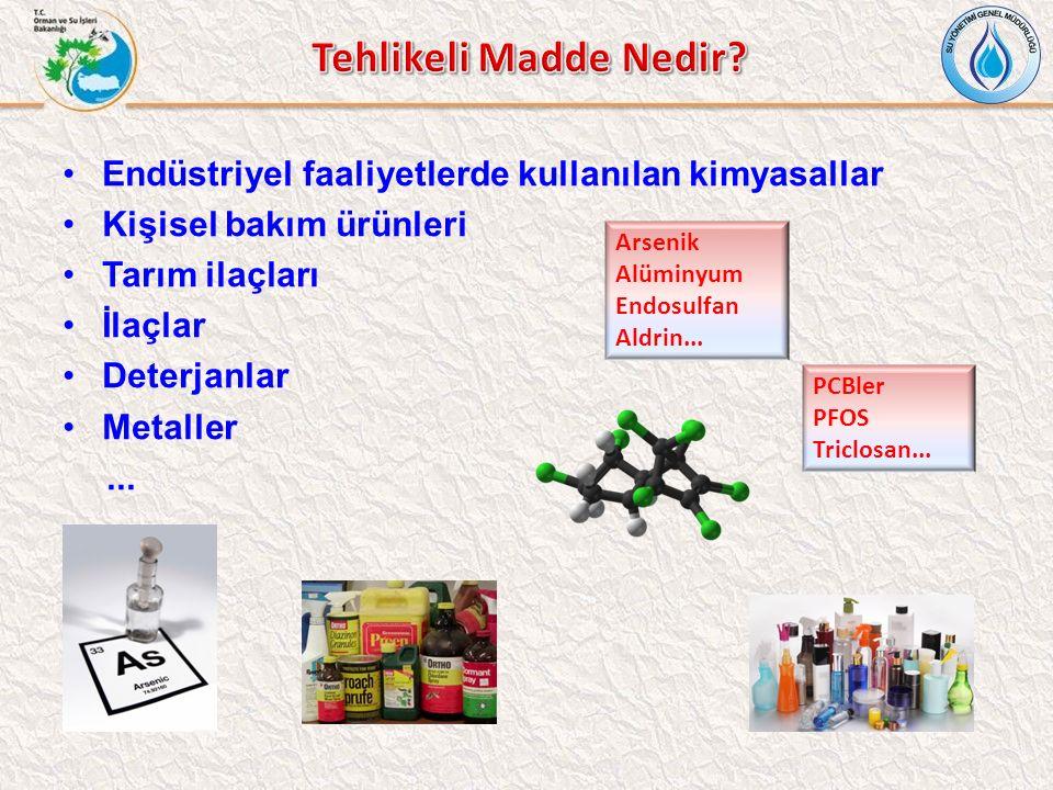 Tehlikeli Madde Nedir Endüstriyel faaliyetlerde kullanılan kimyasallar. Kişisel bakım ürünleri. Tarım ilaçları.