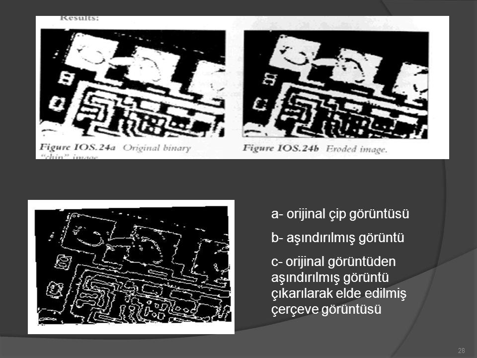 a- orijinal çip görüntüsü