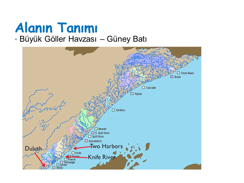 Alanın Tanımı Büyük Göller Havzası – Güney Batı Two Harbors Duluth