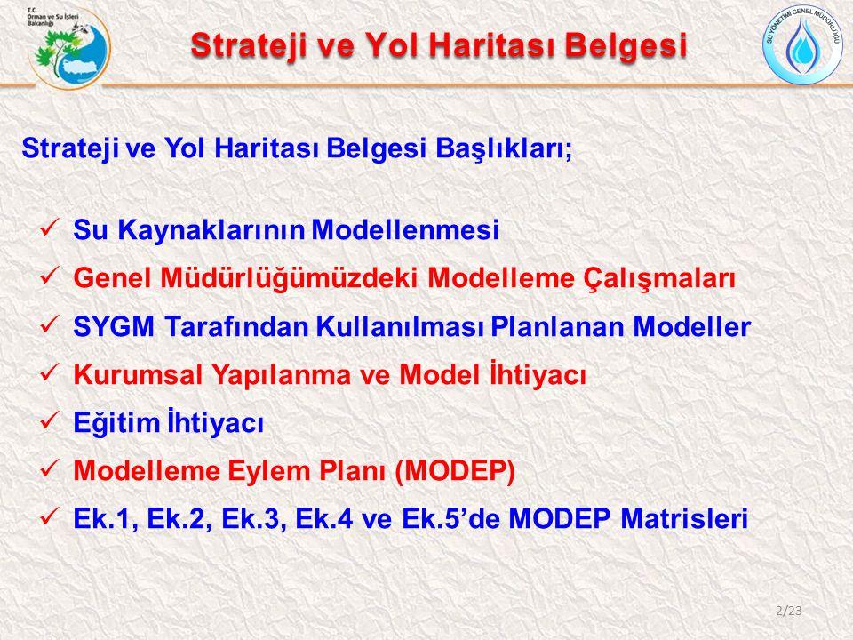 Strateji ve Yol Haritası Belgesi