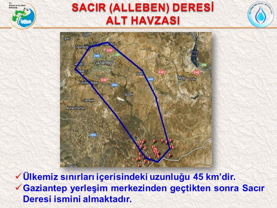 SACIR (ALLEBEN) DERESİ