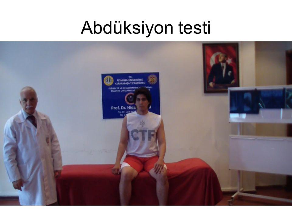 Abdüksiyon testi