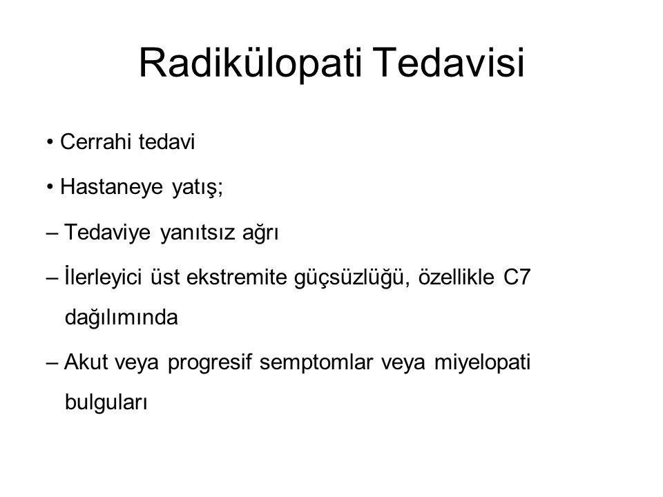 Radikülopati Tedavisi