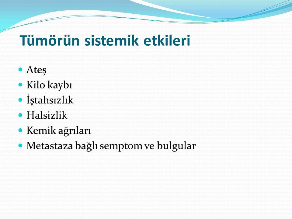 Tümörün sistemik etkileri