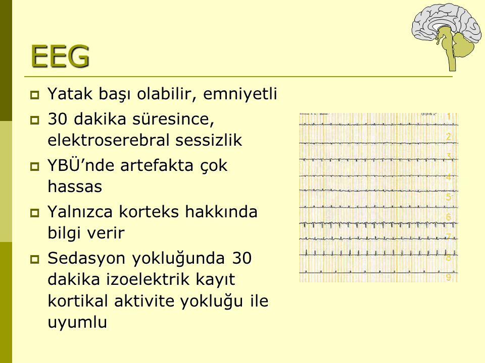 EEG Yatak başı olabilir, emniyetli