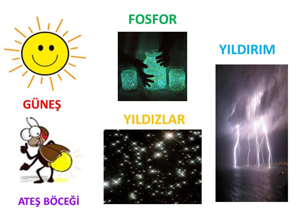 FOSFOR YILDIRIM GÜNEŞ YILDIZLAR ATEŞ BÖCEĞİ