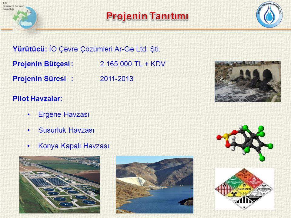 Projenin Tanıtımı Yürütücü: İO Çevre Çözümleri Ar-Ge Ltd. Şti.
