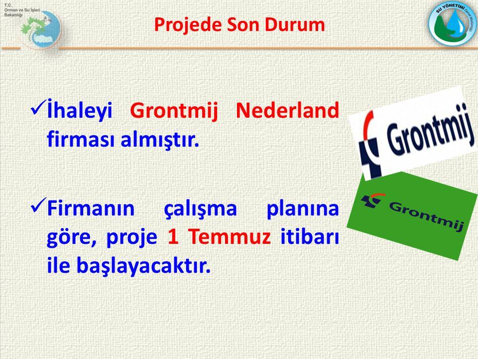 İhaleyi Grontmij Nederland firması almıştır.