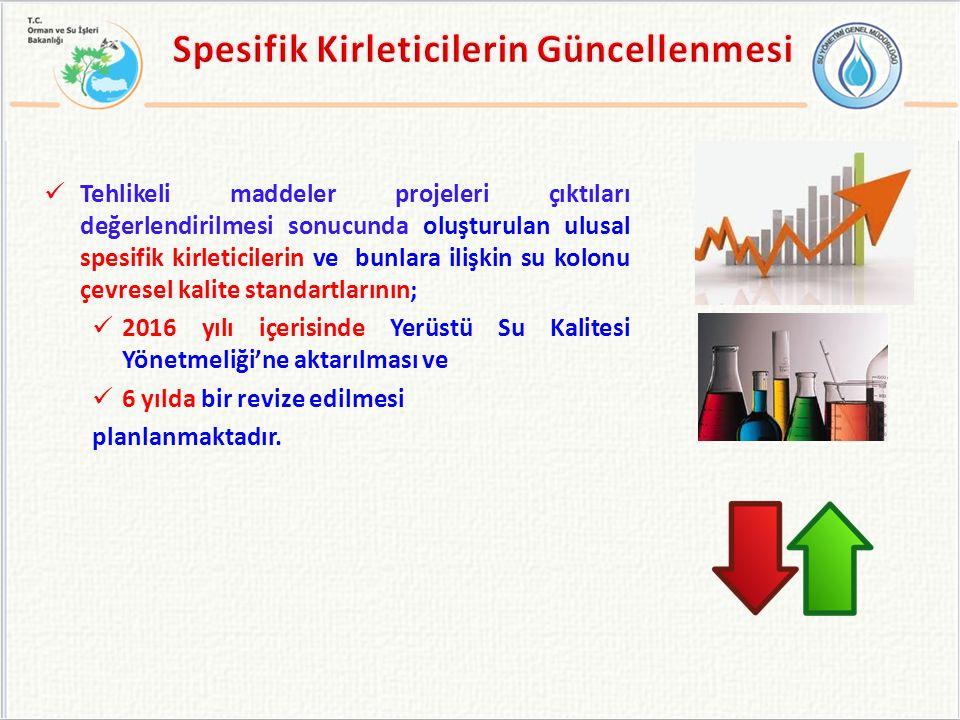 Spesifik Kirleticilerin Güncellenmesi