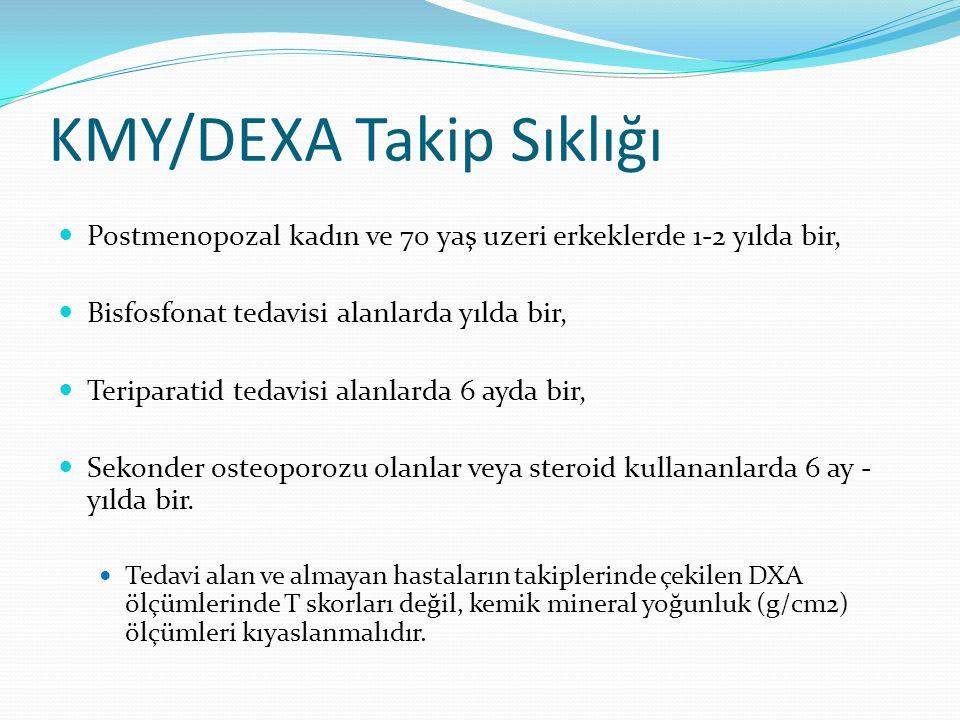 KMY/DEXA Takip Sıklığı