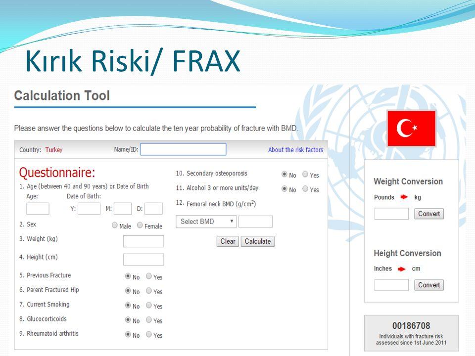 Kırık Riski/ FRAX