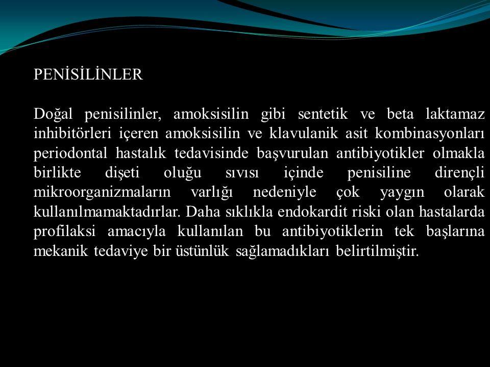 PENİSİLİNLER