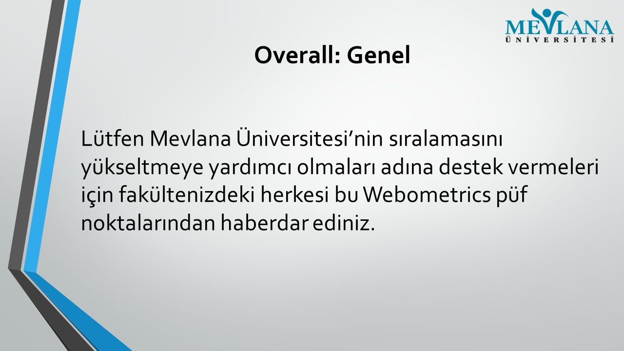 Overall: Genel