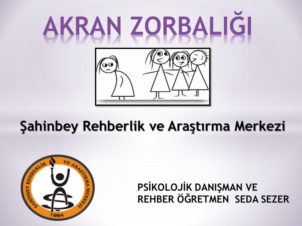 Şahinbey Rehberlik ve Araştırma Merkezi