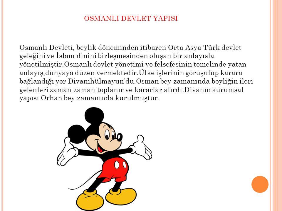OSMANLI DEVLET YAPISI