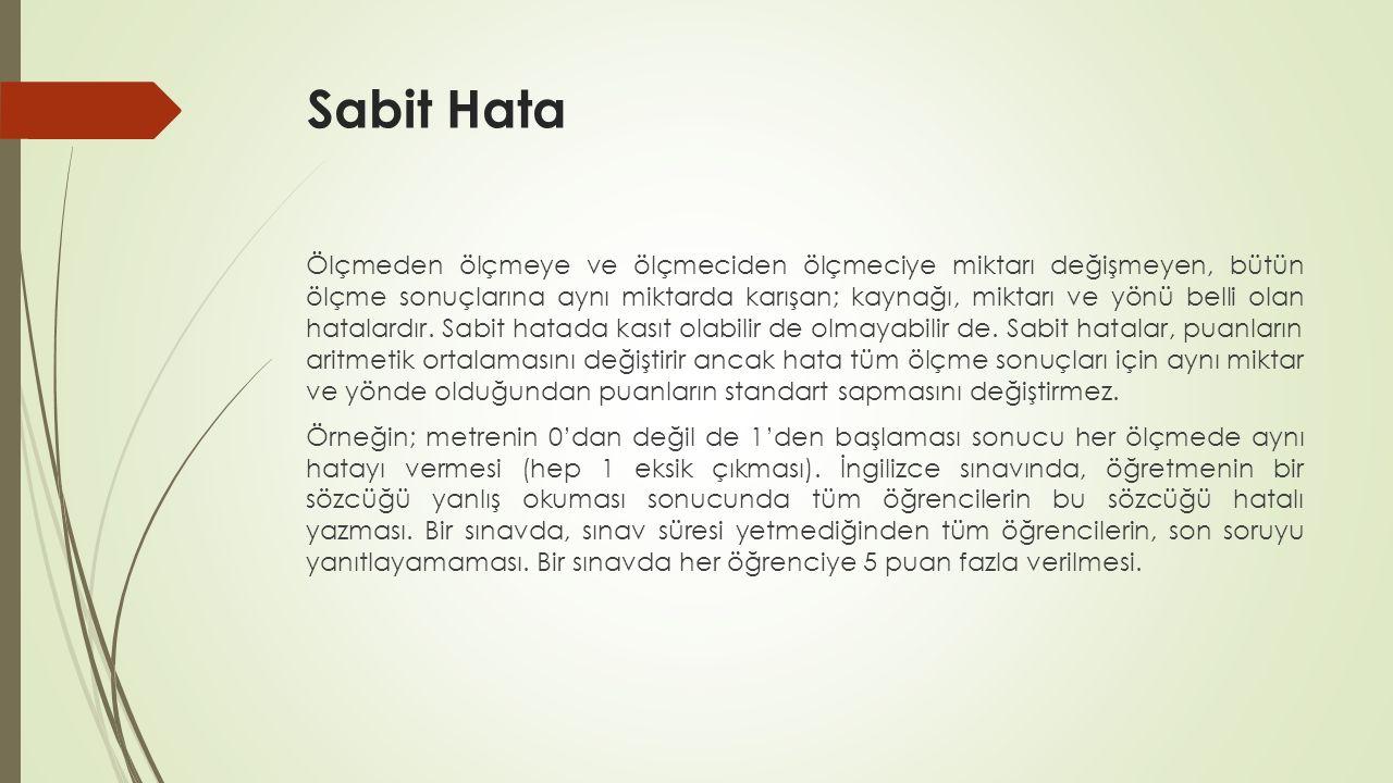 Sabit Hata