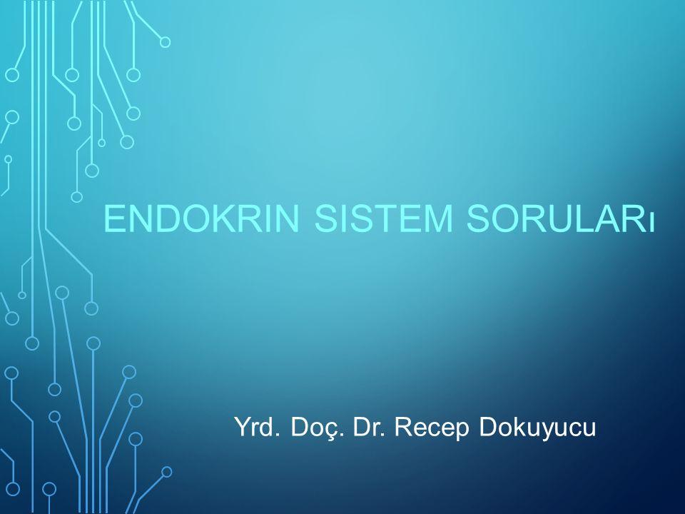 Endokrin sistem soruları