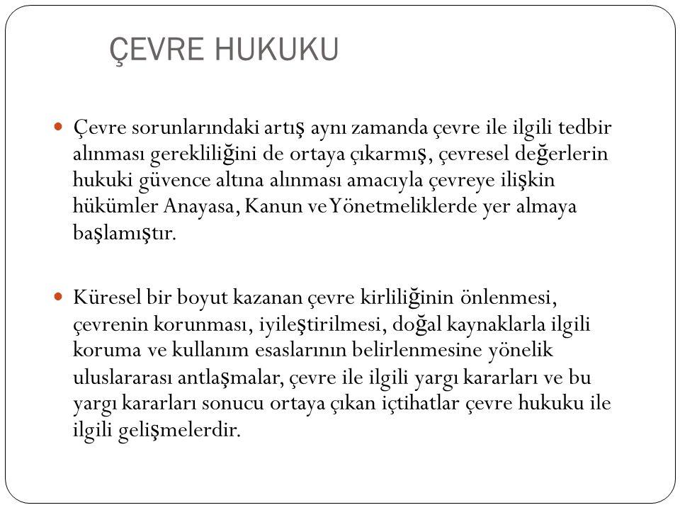 ÇEVRE HUKUKU