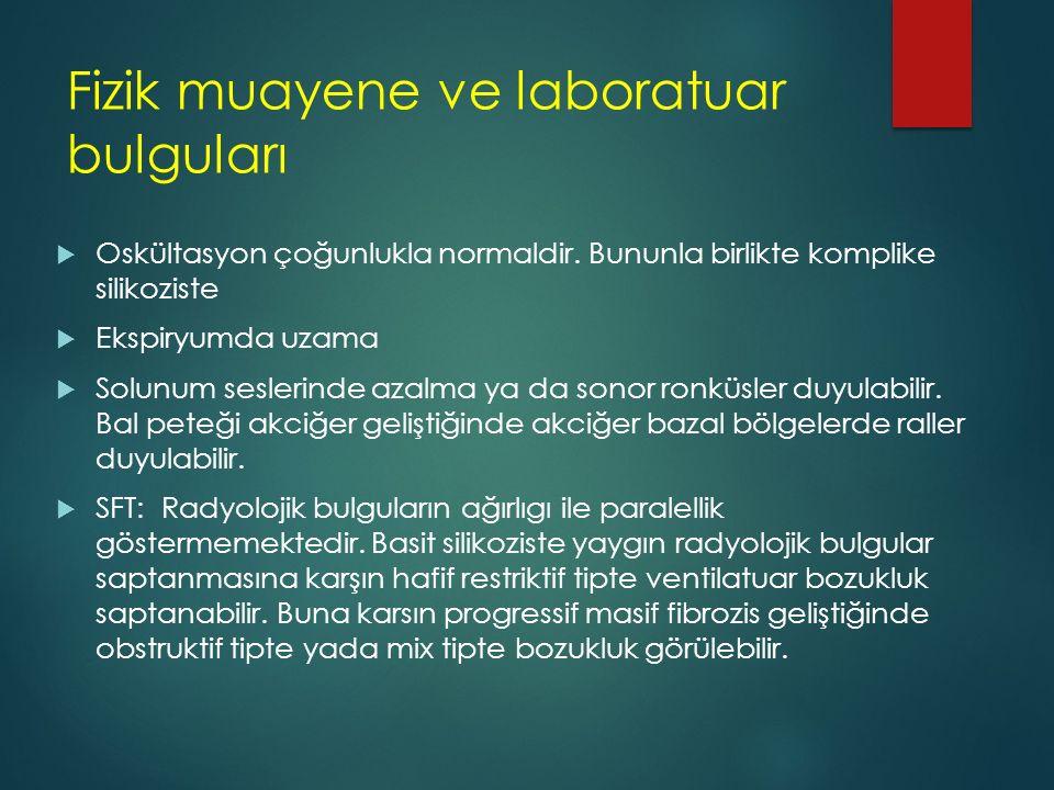 Fizik muayene ve laboratuar bulguları