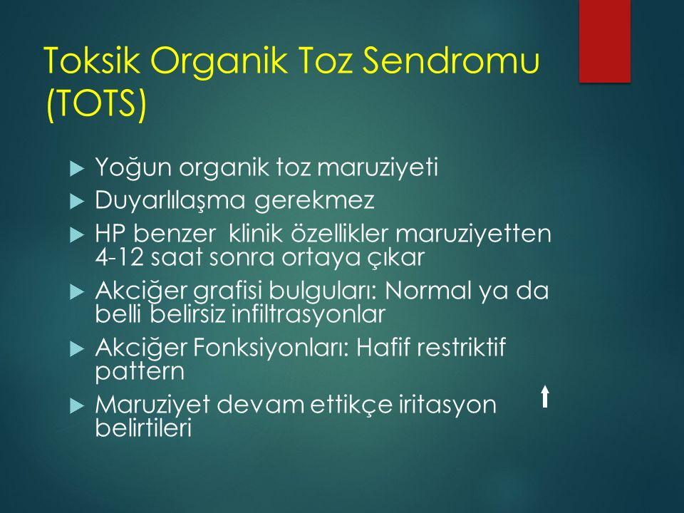 Toksik Organik Toz Sendromu (TOTS)