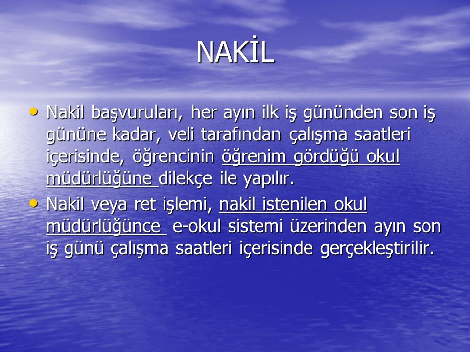 NAKİL