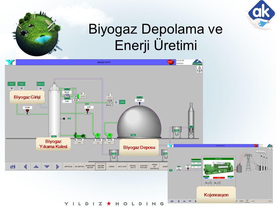 Biyogaz Depolama ve Enerji Üretimi