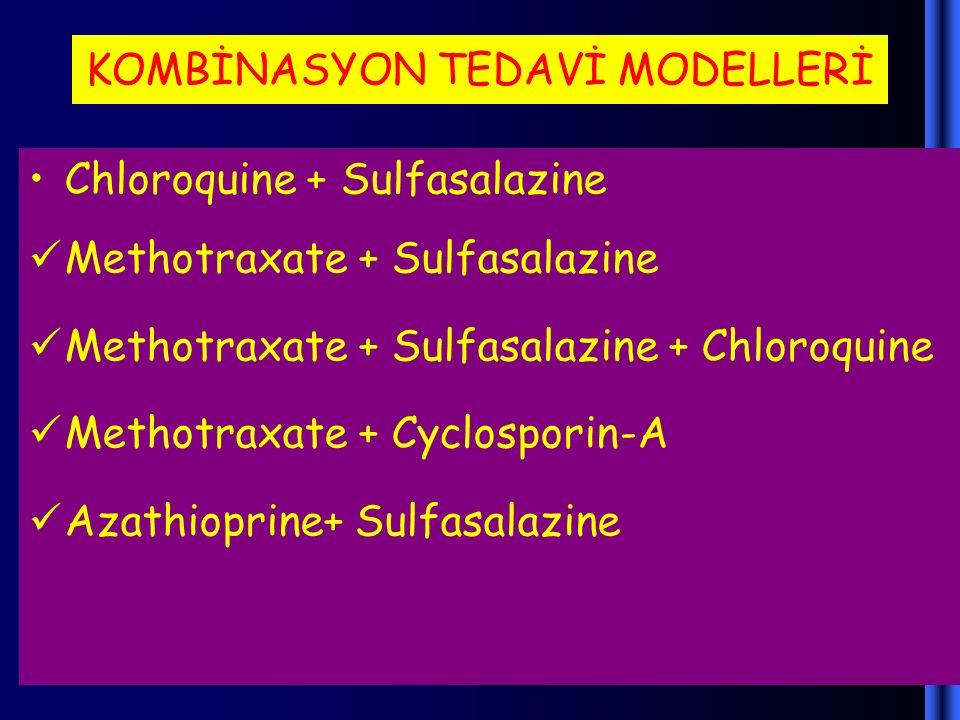 KOMBİNASYON TEDAVİ MODELLERİ
