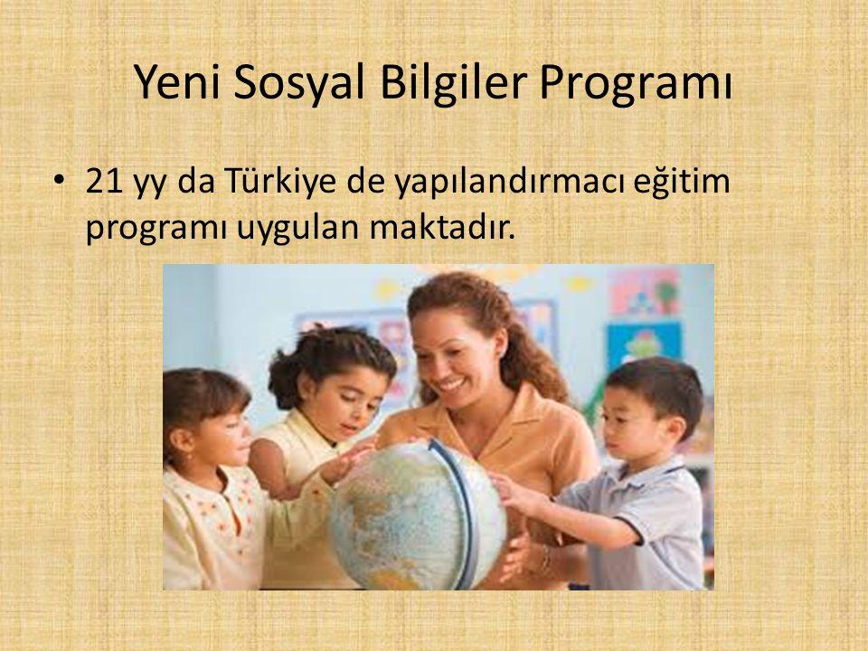 Yeni Sosyal Bilgiler Programı