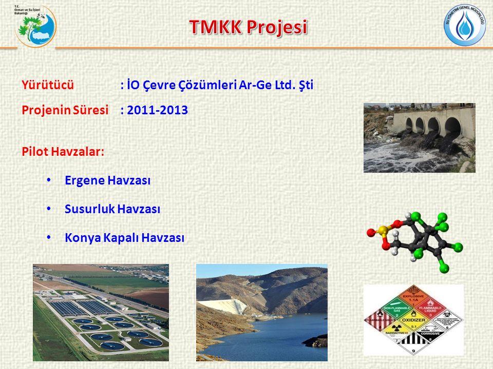 TMKK Projesi Yürütücü : İO Çevre Çözümleri Ar-Ge Ltd. Şti