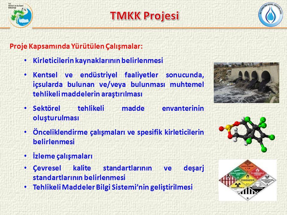 TMKK Projesi Proje Kapsamında Yürütülen Çalışmalar: