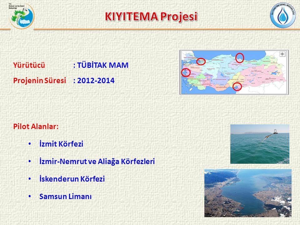 KIYITEMA Projesi Yürütücü : TÜBİTAK MAM Projenin Süresi : 2012-2014