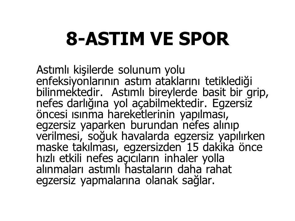 8-ASTIM VE SPOR