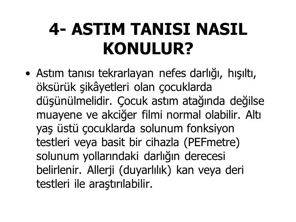 4- ASTIM TANISI NASIL KONULUR