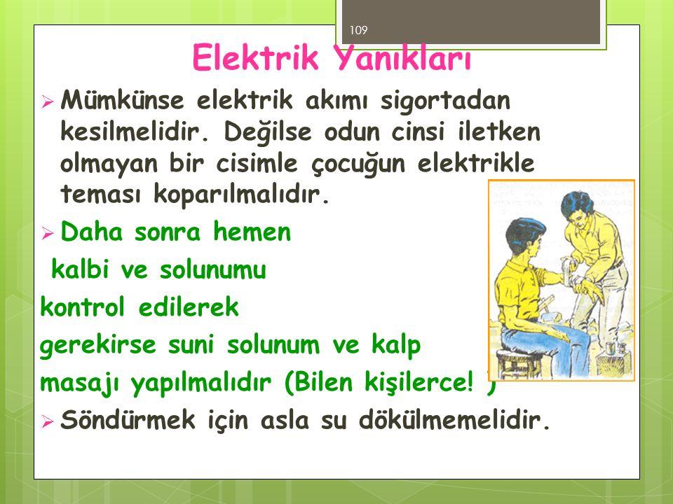 Elektrik Yanıkları