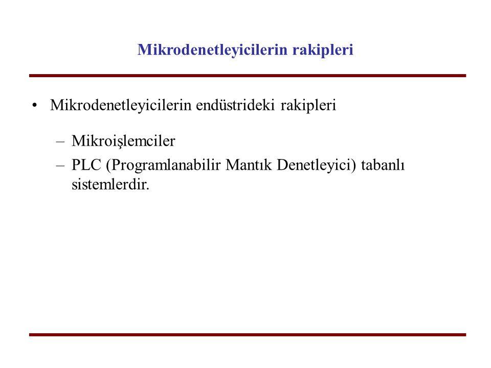 Mikrodenetleyicilerin rakipleri