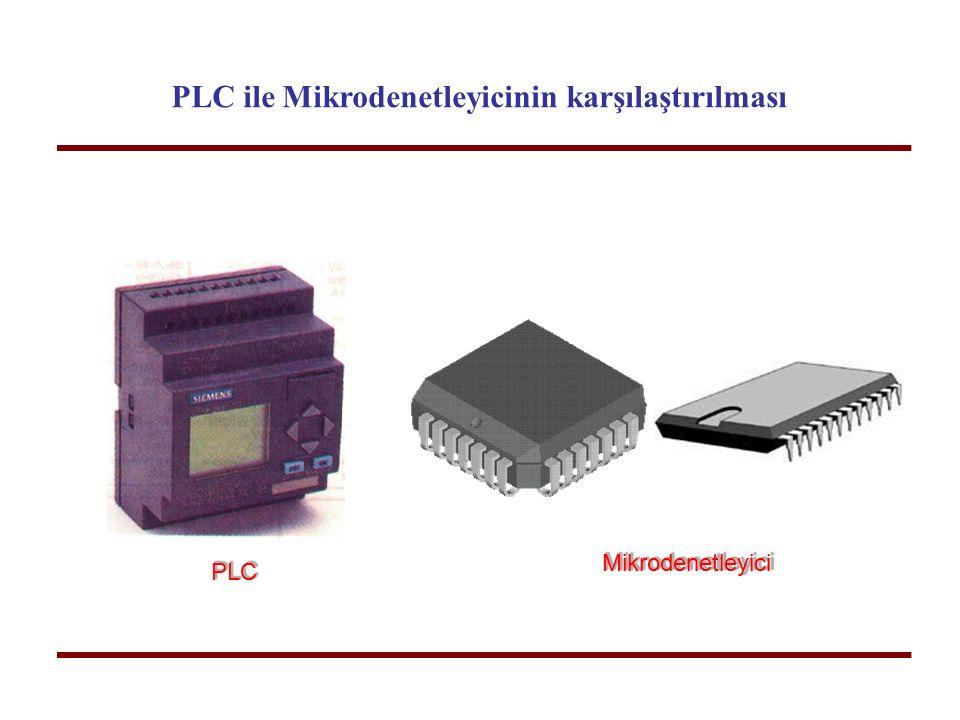 PLC ile Mikrodenetleyicinin karşılaştırılması