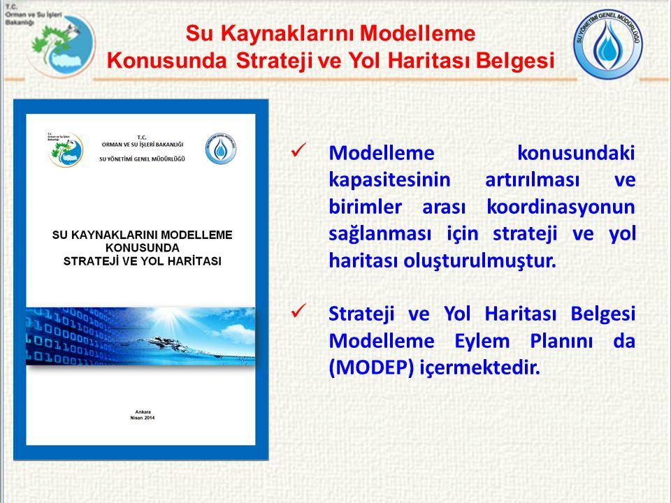 Su Kaynaklarını Modelleme Konusunda Strateji ve Yol Haritası Belgesi
