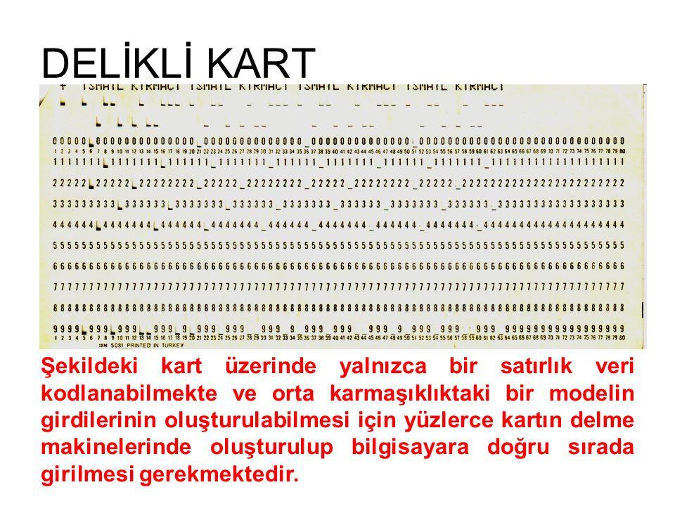 DELİKLİ KART