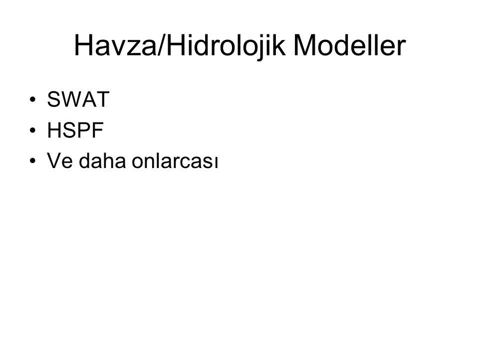 Havza/Hidrolojik Modeller