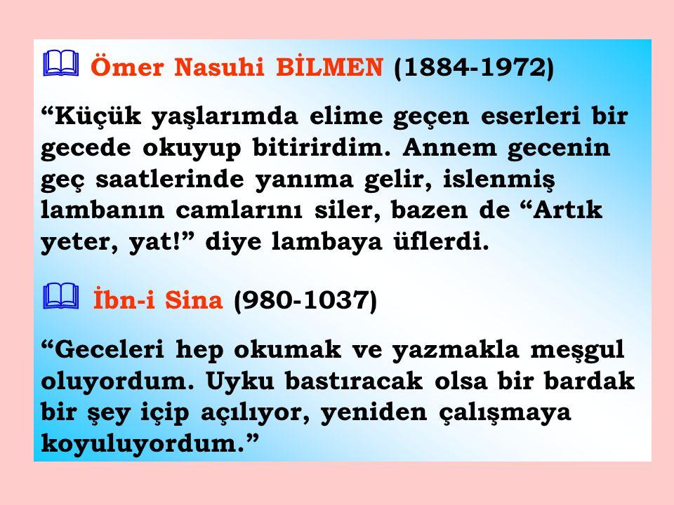  Ömer Nasuhi BİLMEN (1884-1972)