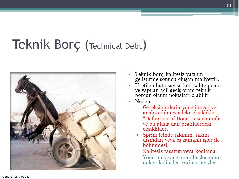 Teknik Borç (Technical Debt)