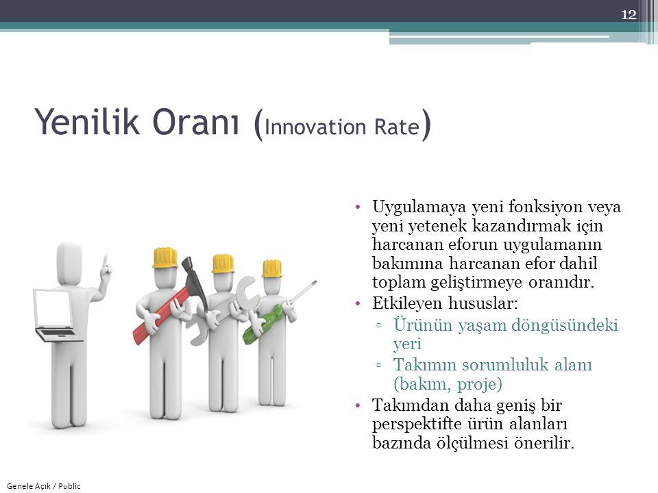 Yenilik Oranı (Innovation Rate)