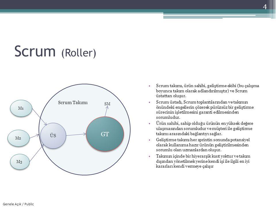 Scrum (Roller) GT Scrum Takımı ÜS