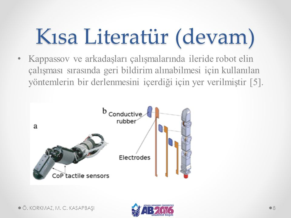 Kısa Literatür (devam)