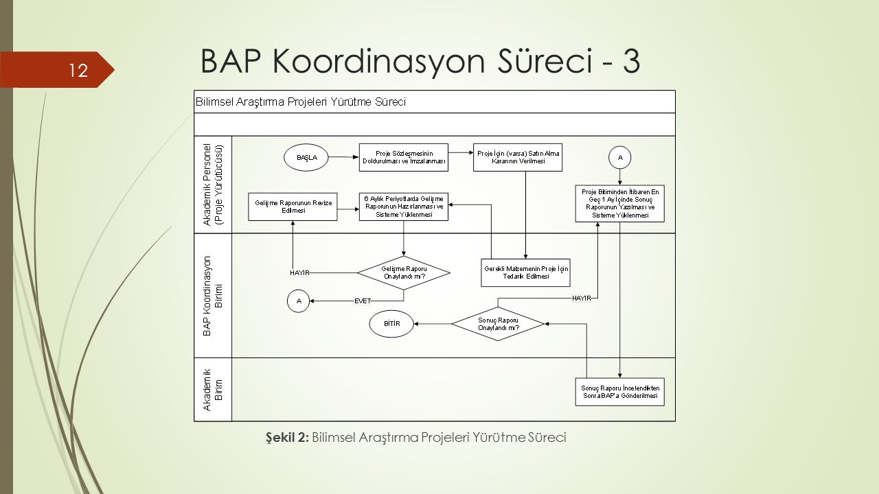 BAP Koordinasyon Süreci - 3