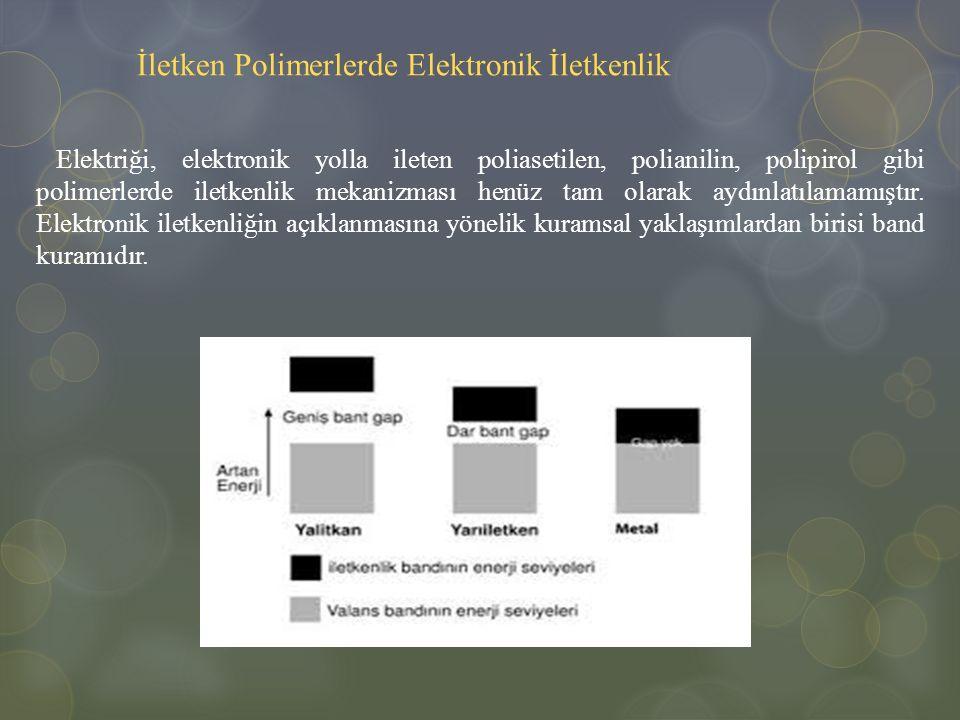 İletken Polimerlerde Elektronik İletkenlik
