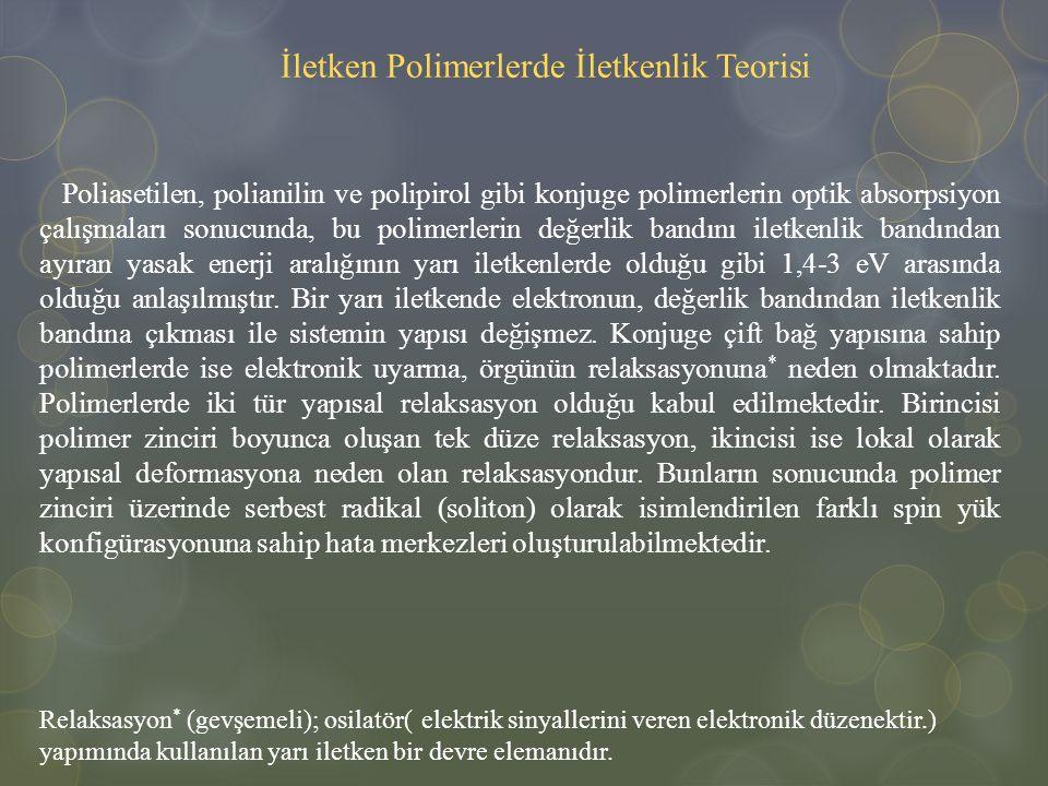 İletken Polimerlerde İletkenlik Teorisi