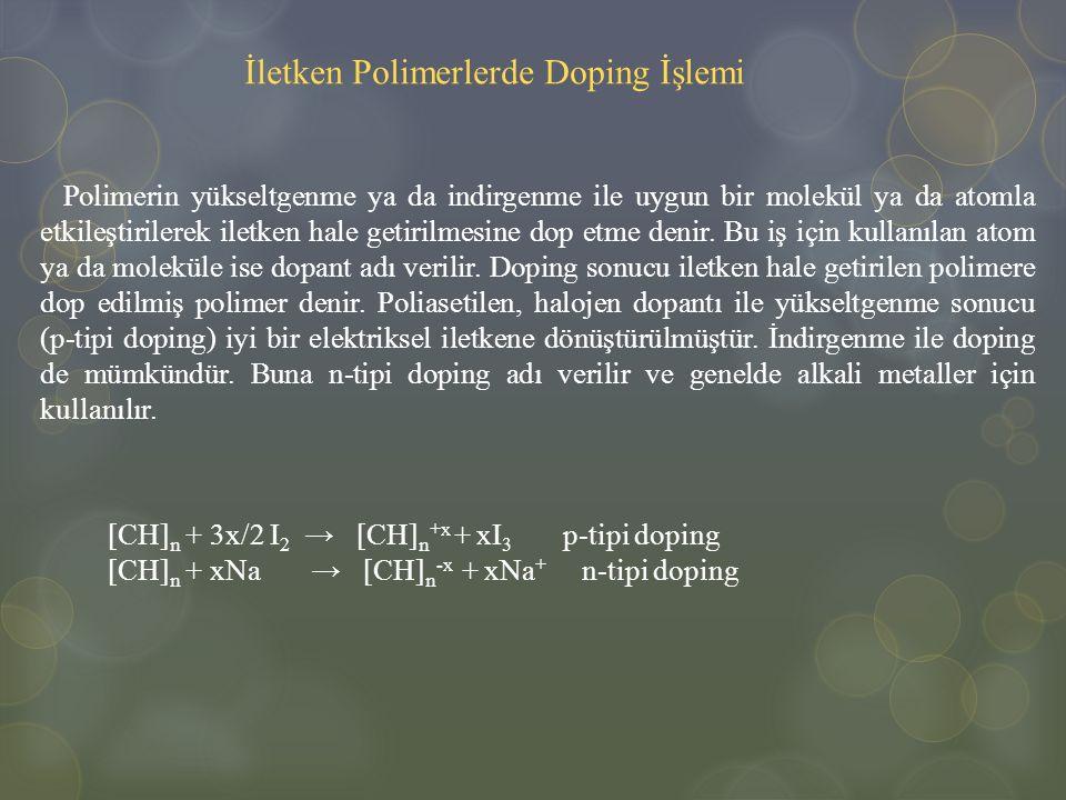 İletken Polimerlerde Doping İşlemi