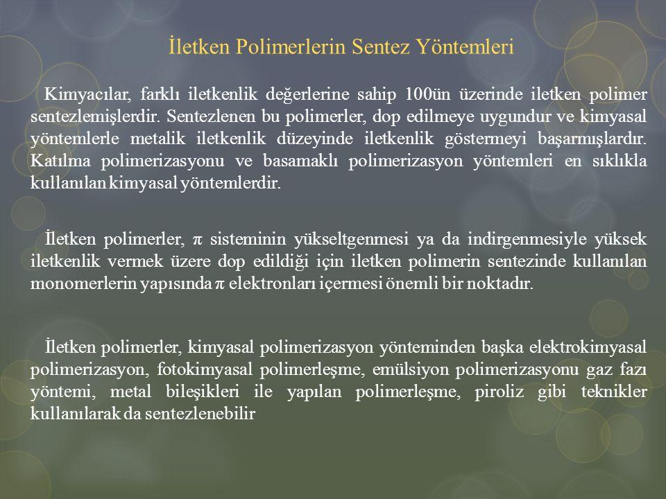 İletken Polimerlerin Sentez Yöntemleri