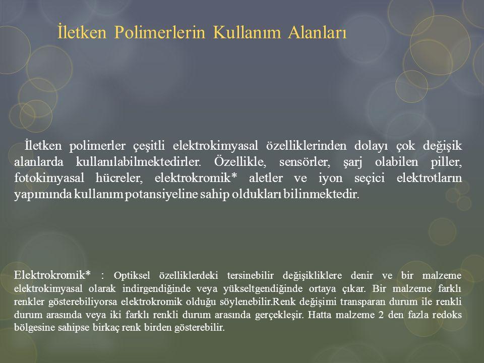 İletken Polimerlerin Kullanım Alanları
